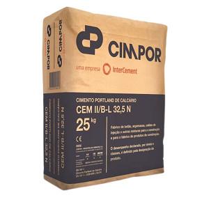Cimento para construçao TPII 32.5 25 kg