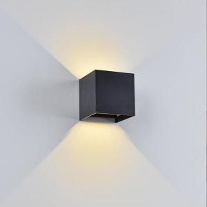 Aplique LED 6W 4000K 600 Lumens Cinza