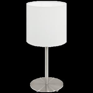 Candeeiro de mesa 60W E14 Branco