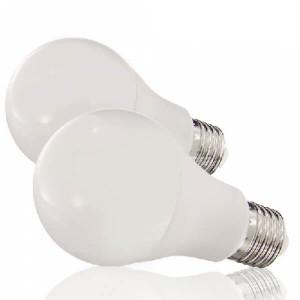 Lâmpada Led A60 1940 7W E27 branco natural (2unid)