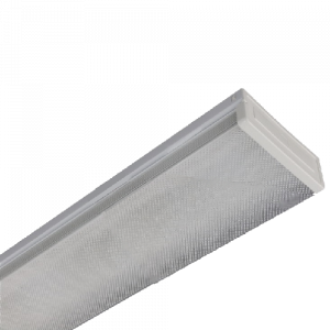 Armadura led prisma 2xT8 18W 12000