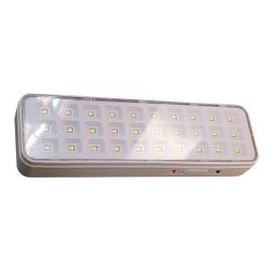 Armadura de emergência LED mini SMD 3W Branco Frio