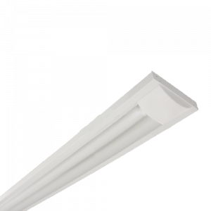Armadura em PVC para lâmpadas LED 2XT8 18W LG04035