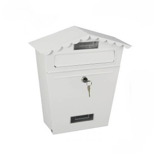 Caixa de correio classic Branca