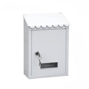 Caixa de correio Standard branca