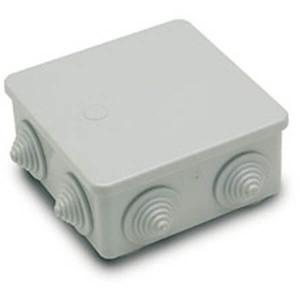 Caixa de derivação quadrada estanque 80x80x35 mm