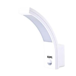 Aplique led exterior parede c/sensor 10W 6400K 32536