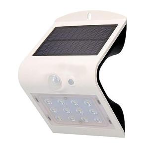 Aplique solar 1.5W 6000K Branco
