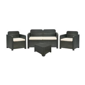 Conjunto de sala de estar para interior e exterior