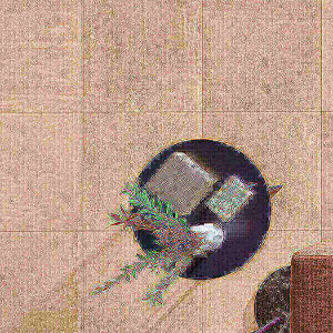 Mosaico 80x80cm Arise bege 2ªescolha