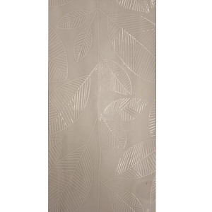 Azulejo 35x70cm leaves earl grey 1ªescolha retificado