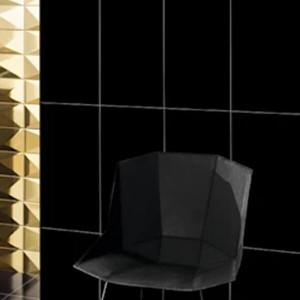 Azulejo 22,5x45cm wonder black 1ªescolha