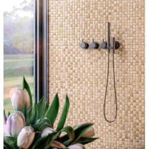Azulejo 33,5x50cm Cristal Mosaico Travertino 1ªescolha