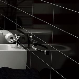 Azulejo 34x91,5cm Diamond black 3ªescolha