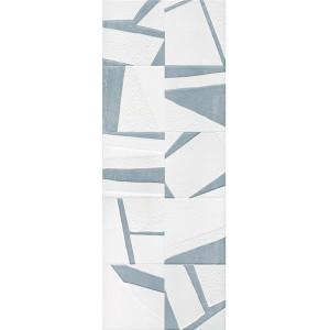 Azulejo 34x91.5 cm Uptown Puzzle Blue 2ª escolha