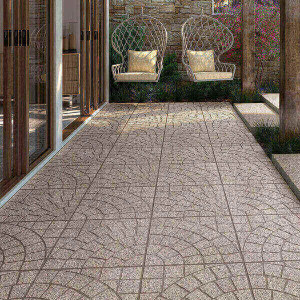 Mosaico Anti-derrapante 45x45 granit arc grey 1ªescolha