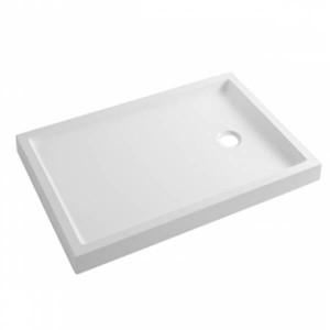 Base de duche fundo liso Piano 100x70x7.5cm