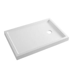 Base de duche fundo liso 140x80 Piano Branco