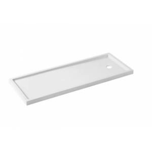 Base de duche Piano fundo liso 170x70x7.5cm