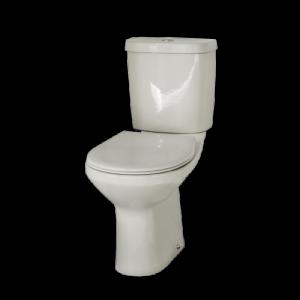 Conjunto de sanita+tanque+tampo Oceanus de entrada inferior branco