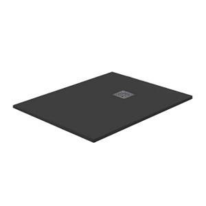 Base de duche 80x120 cm Meva Resina Negra