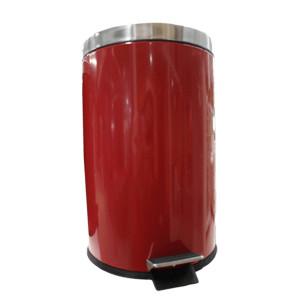 Balde redondo vermelho 20lts