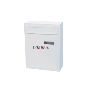 Caixa de correio nº2 branco