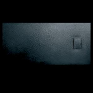 Base chuveiro 120x80x3 resina smc preta