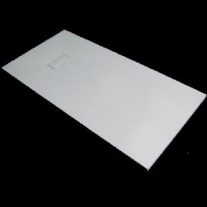 Base chuveiro 80x120x3 resina SMC branca