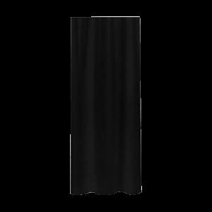 Cortina de tecido 180x200 Primo preta