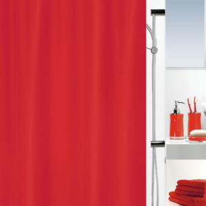 Cortina para wc 180x200 Primo vermelha