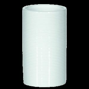 Copo para wc Ribbed branco