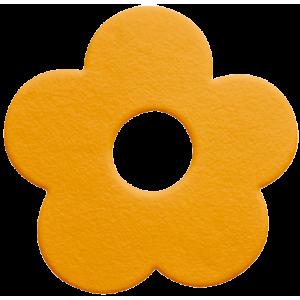 5 mini tapete para banheira Mini Funky laranja