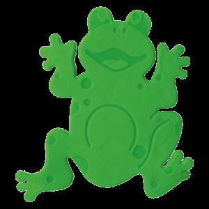 5 mini tapete frogtime verde