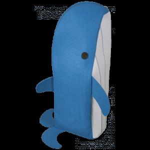 Cesto para roupa de criança Mobykids 65lt azul