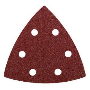 Conjunto 5 lixas Triangulares 96mm GR120