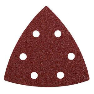 Conjunto 5 lixas Triangulares 96mm GR180