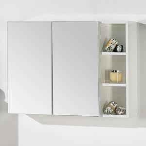 Camerino City 60 cm com 3 estantes branco
