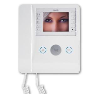 Kit monitor com telefone Agata de 2 linhas