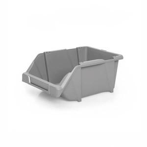 Caixa de Stock 20x30x13 cm cinza