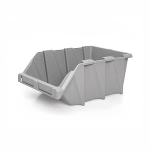 Caixa de Stock 26.5x42x17.7 cm Cinza