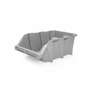 Caixa Stock 31x49x19.5 cm cinza