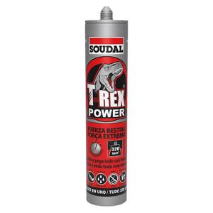 Cola e veda T-Rex power branco 290ml