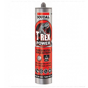 Cola e veda T-Rex power preto 290ml