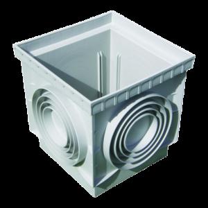 Caixa cúbica com tampa 55x55 cm