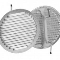 Grelha de Ventilação em Aluminio com mola de fixação