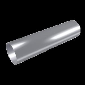 Tubo circular de descarga diâmetro de 80 3 m preto
