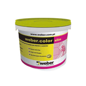 Betume weber color slim 2kg cinza