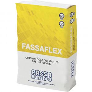 Cimento cola Fassaflex cinza 25kg