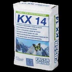 Bio Reboco para paredes antigas KX 14 25kg extra branco